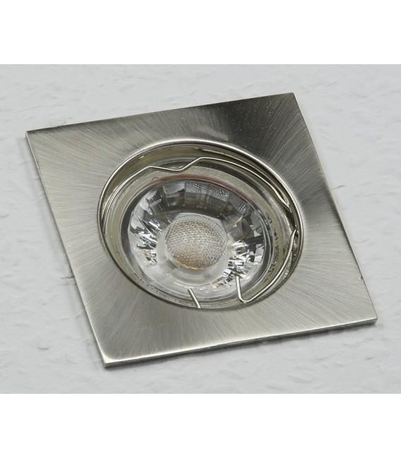 "Decken-Einbaustrahler ""SE75"" chrom-matt Bild 1"