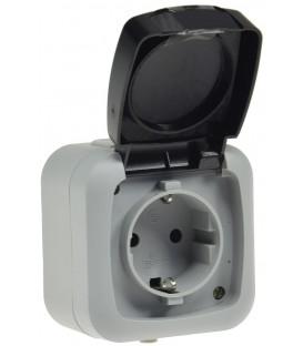 Feuchtraum Steckdose IP44 Bild 1