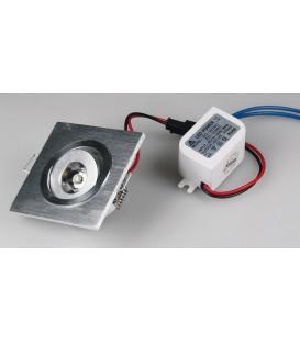 """LED-Einbauleuchte """"QD-1"""" 1W 80lm Bild 1"""