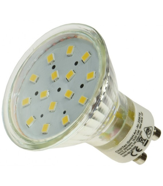"LED Strahler GU10 ""H10 SMD"" 15 SMD LEDs Bild 2"