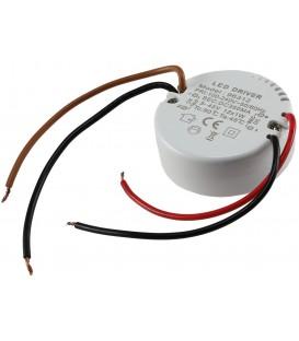elektronischer LED-Trafo 3-45V rund Bild 1