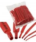 Schrumpfschlauch-Sortiment 100-teilig Tüte rot