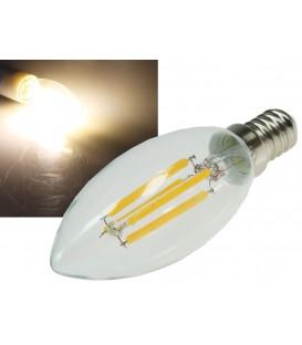 "LED Kerzenlampe E14 ""Filament K4"" Bild 1"