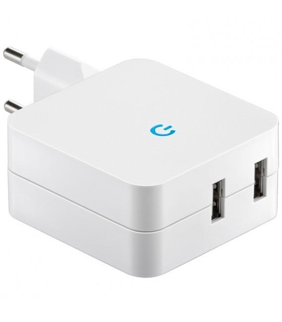 """Stecker-Netzteil mit USB """"CTN-0540 Duo"""" Bild 1 Vorschau"""
