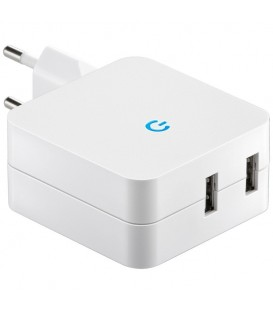 """Stecker-Netzteil mit USB """"CTN-0540 Duo"""" Bild 1"""