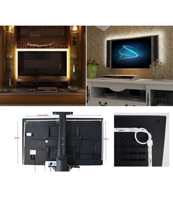 RGB Stripe TV-Hintergrundbeleuchtungsset Bild 3